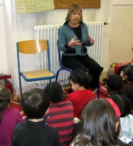 A l'école de la Plaine, Paris 20e
